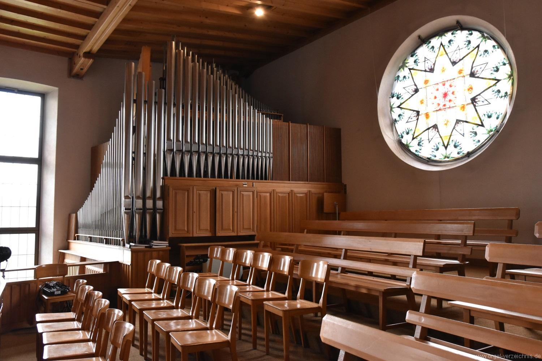Buchs – Reformierte Kirche – Hauptorgel