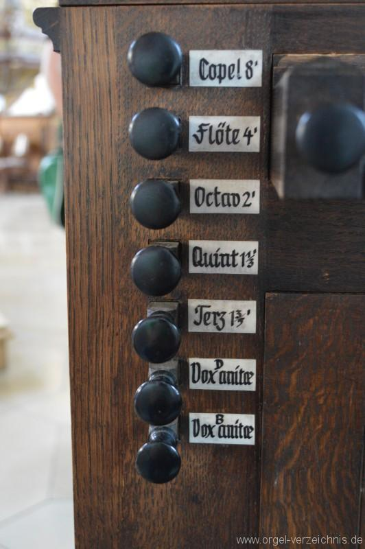 Ravensburg/Weissenau – St. Petrus und Paulus – Truhenorgel