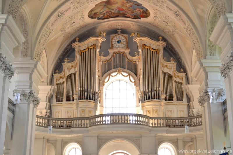 Ravensburg/Weissenau – St. Petrus und Paulus – Hauptorgel