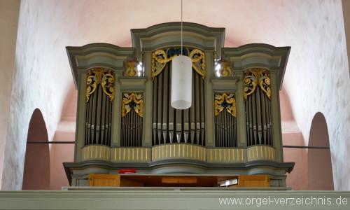 Büdingen/Rohrbach – Evangelische Nikolauskirche Orgel