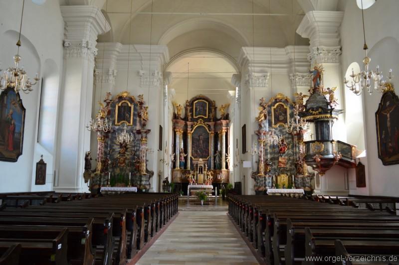 Fürstenfeld St. Johannes Baptist Altarsicht