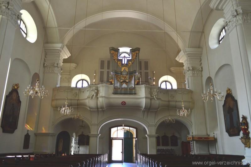 Fürstenfeld St. Johannes Baptist Orgelansicht