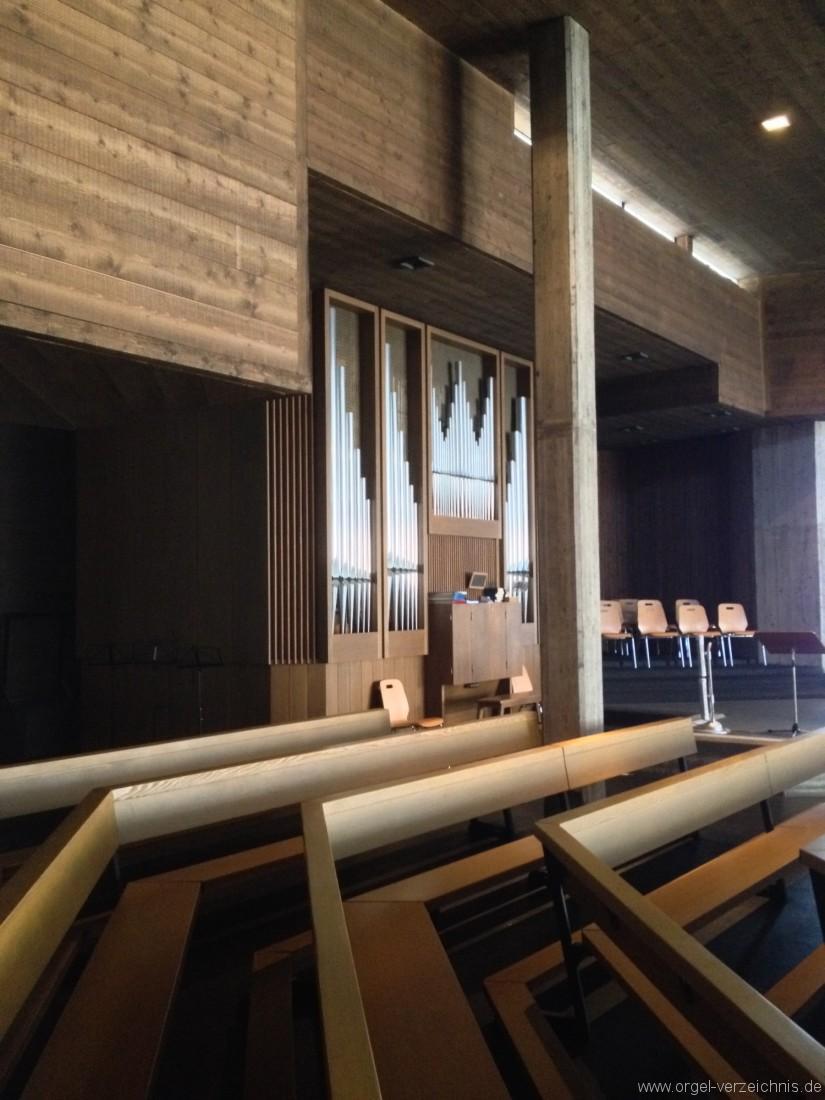Buchs - St. Johannes Evangelist Orgel