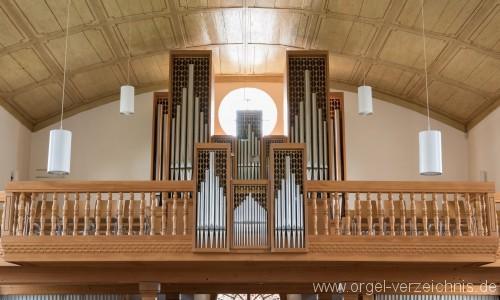 Schöftland Reformierte Kirche Orgelprospekt