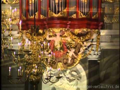 Johan Sebastian Bach – Tocata in F Major – Marie Claire Alain – Orgel von Christian Müller – St. Bavo Kirche (Haarlem, Niederlande)