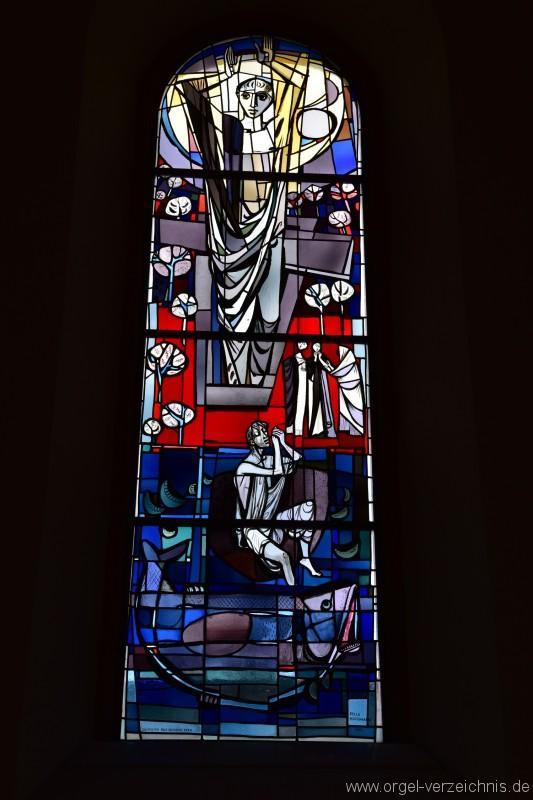 Bözen Reformierte Kirche Altarfenster