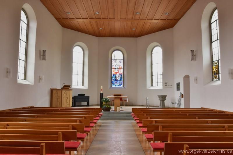 Bözen Reformierte Kirche Altarfront