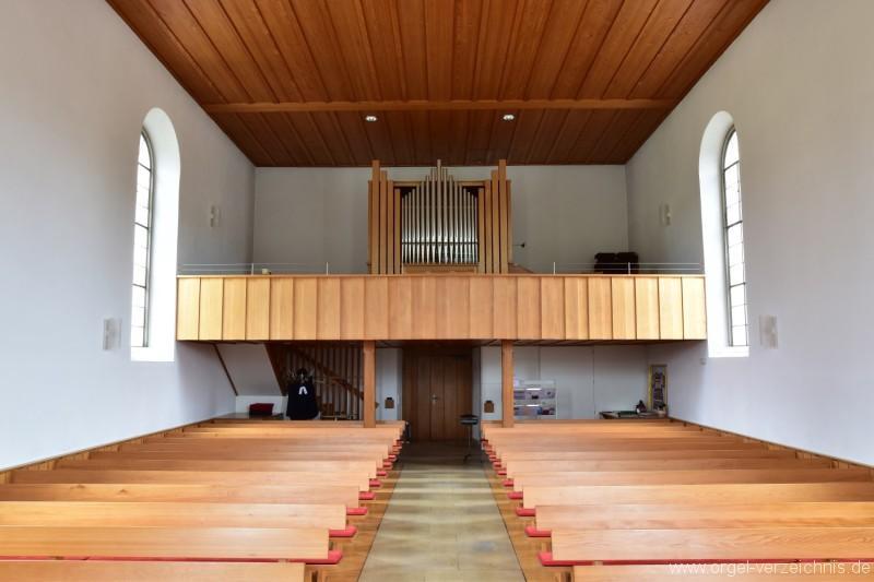 Bözen Reformierte Kirche Prospekt I