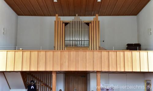 Bözen Reformierte Kirche Prospekt II