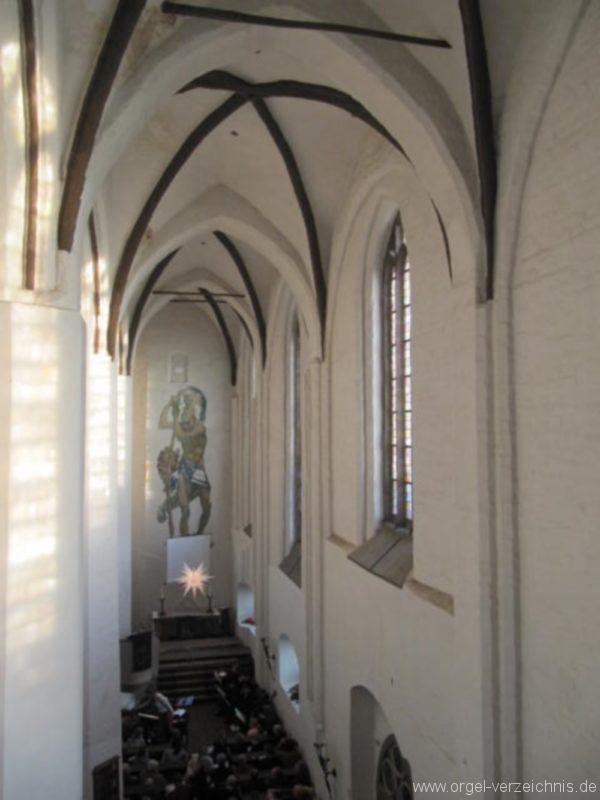 Beeskow Marienkirche Kirchenansicht