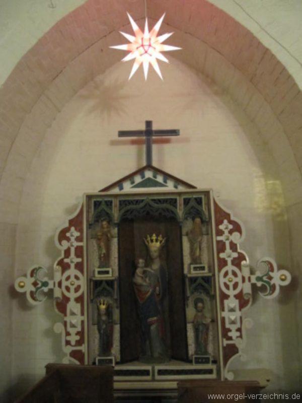 Beeskow Marienkirche Marienaltar