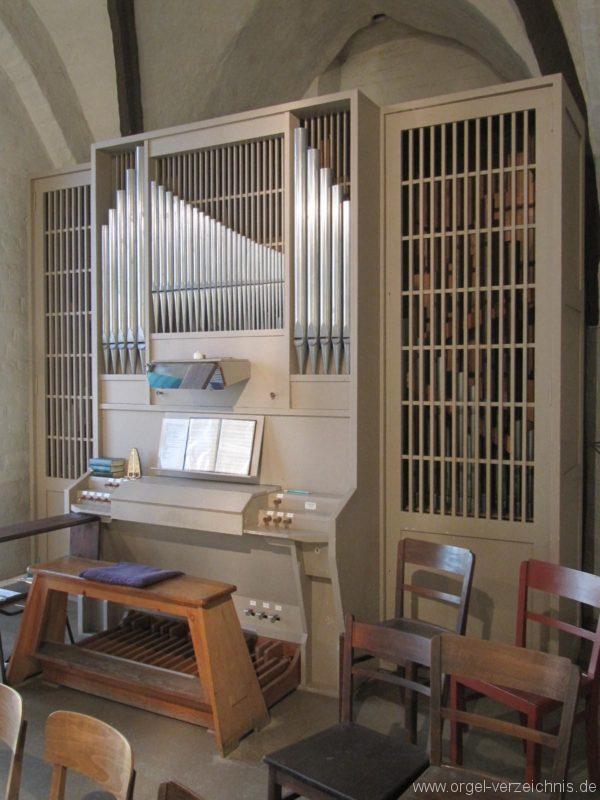 Beeskow Marienkirche Orgelprospekt I