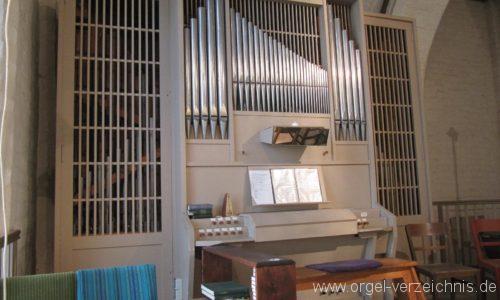 Beeskow Marienkirche Orgelprospekt II