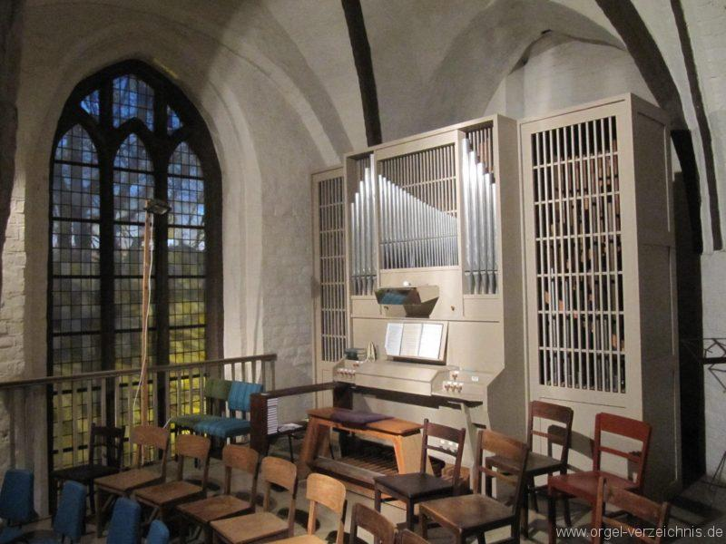 Beeskow Marienkirche Orgelprospekt III