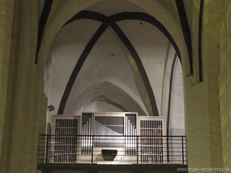 Beeskow Marienkirche Orgelprospekt V