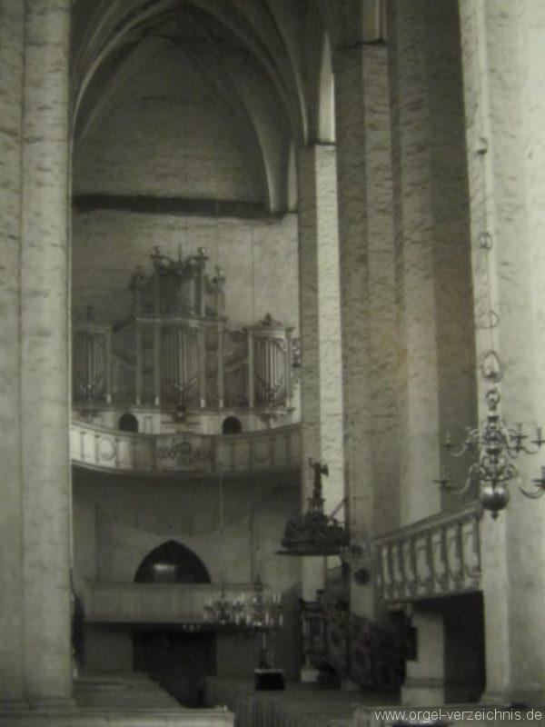 Beeskow Marienkirche Prospekt der Marxorgel II