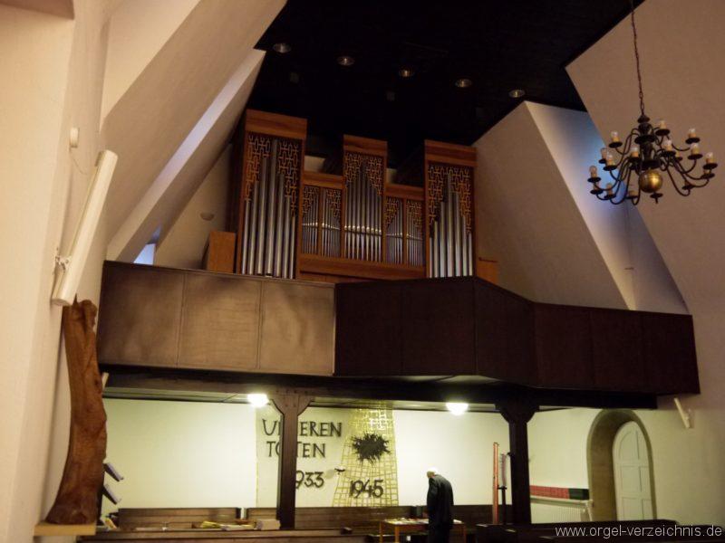 Berlin Charlottenburg Friedenskirche Prospekt I