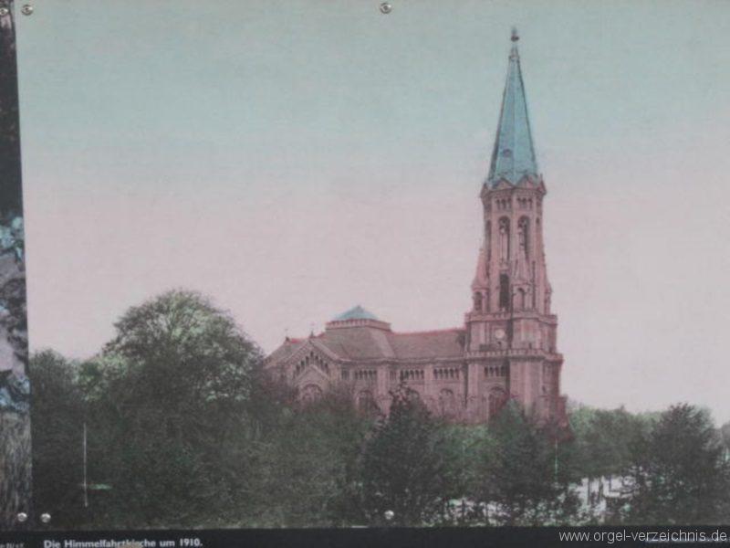 Berlin Wedding Himmelfahrtkirche Alte Himmelfahrtkirche Wedding III