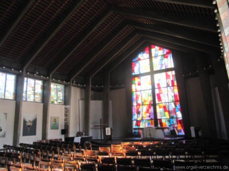 Berlin Wedding Himmelfahrtkirche Kirchenansicht