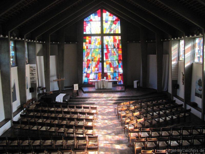 Berlin Wedding Himmelfahrtkirche Kirchenansicht II
