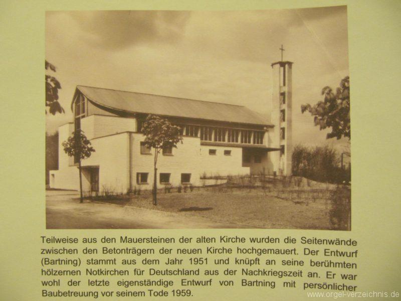 Berlin Wedding Himmelfahrtkirche Neue Himmelfahrtkirche Wedding Weihschrift