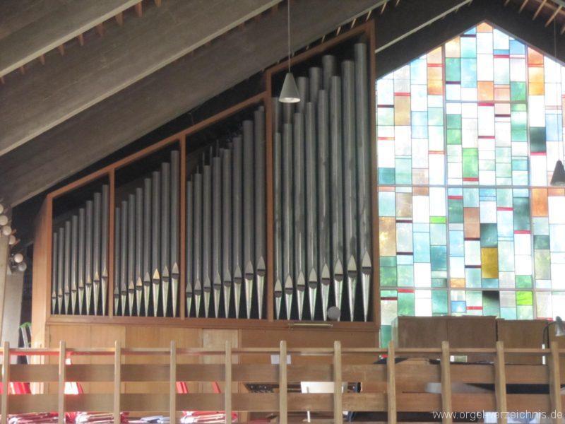 Berlin Wedding Himmelfahrtkirche Orgelprospekt
