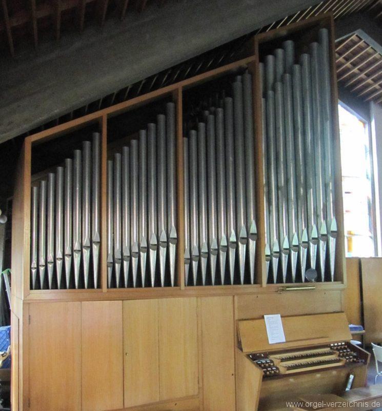 Berlin Wedding Himmelfahrtkirche Orgelprospekt II