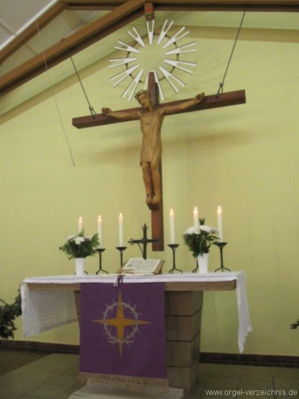 Bernau bei Berlin Lobetal Waldkirche Altar