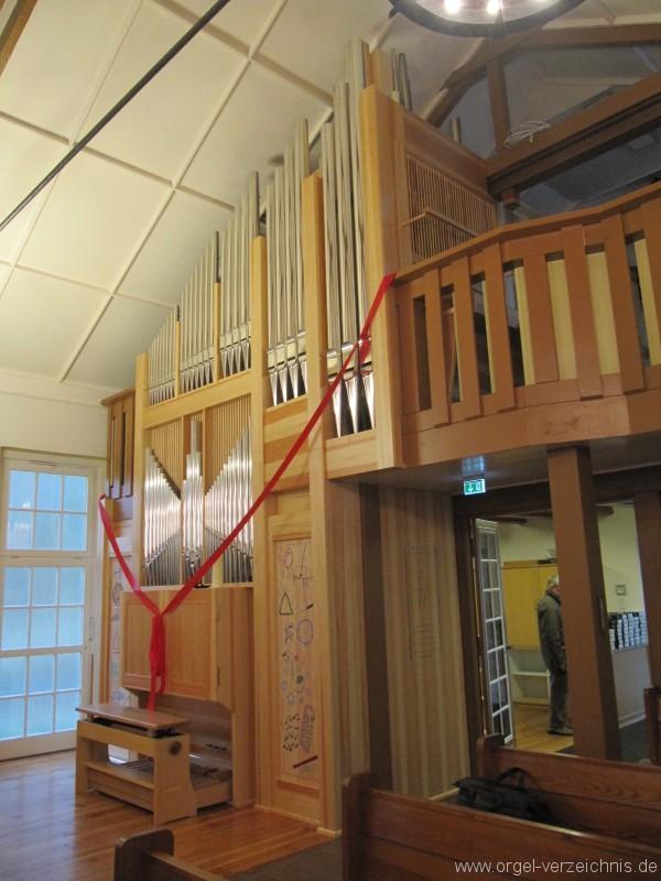 Bernau bei Berlin Lobetal Waldkirche Orgelweihe