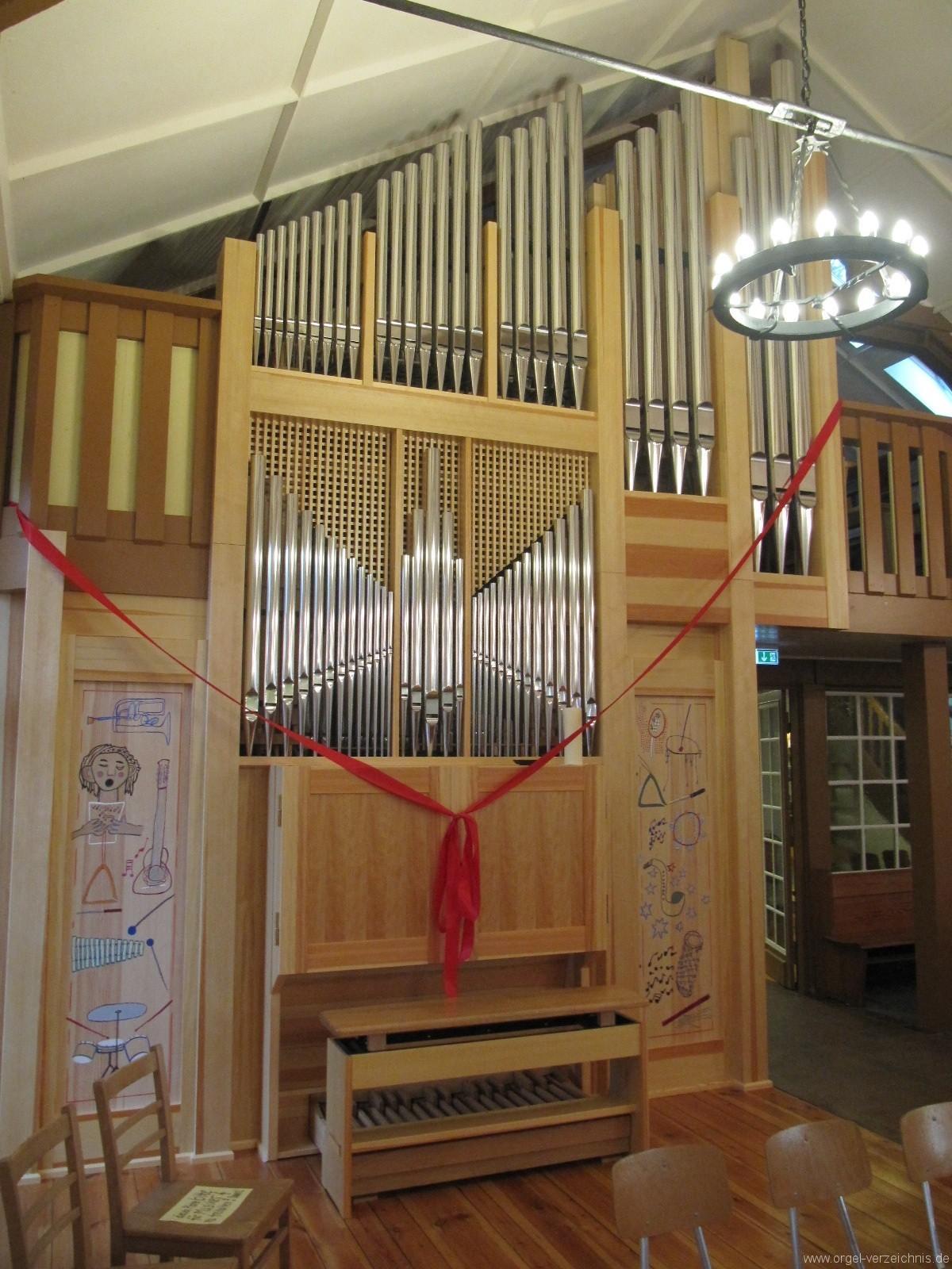 Bernau bei Berlin Lobetal Waldkirche Orgelweihe II