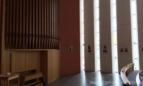 Exerzitien- und Bildungshaus auf Mariahilf - Hauskapelle-Orgel (1)