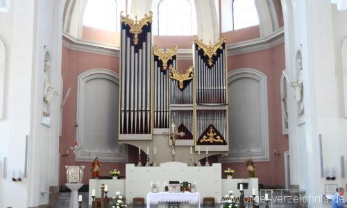 Hannover - Basilika St. Clemens-Orgel (3)