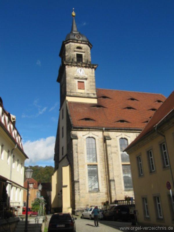 Königstein (Sächsische Schweiz) Evangelische Stadtkirche St. Marien