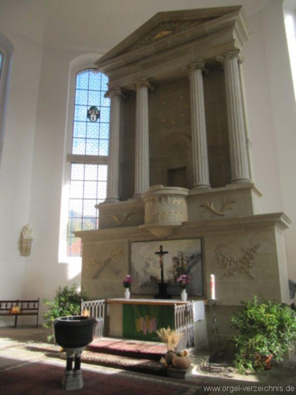 Königstein (Sächsische Schweiz) Evangelische Stadtkirche St. Marien Altarraum II