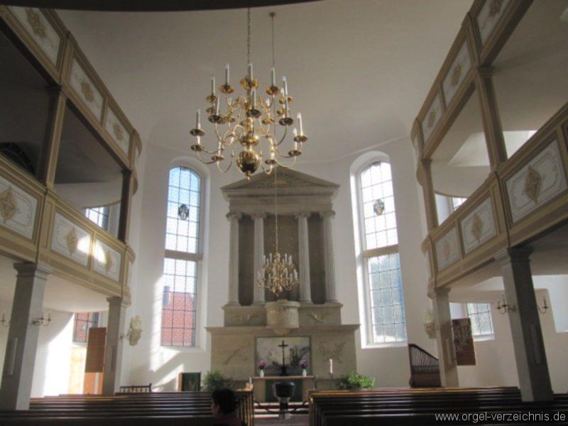 Königstein (Sächsische Schweiz) Evangelische Stadtkirche St. Marien Innenraum