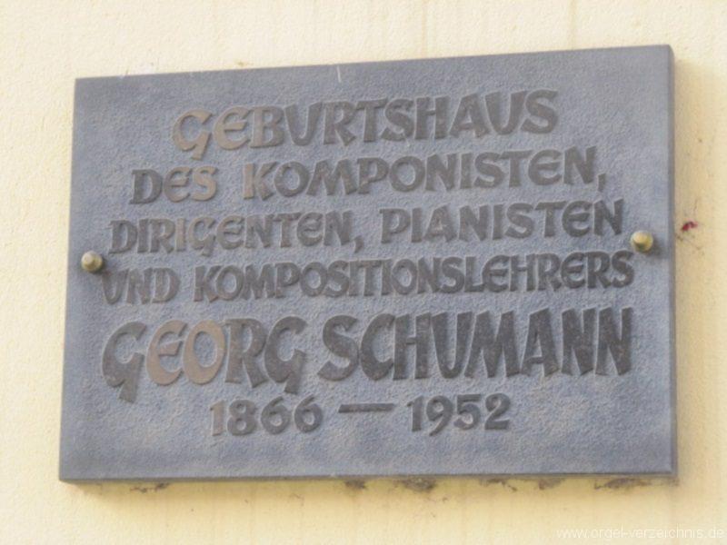 Königstein (Sächsische Schweiz) Widmung Georg Schumann