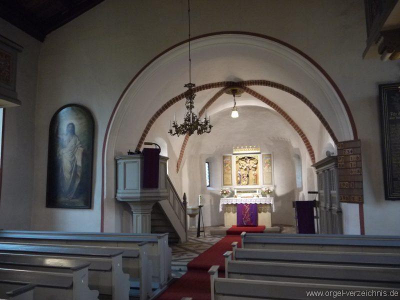 Schönefeld Grossziethen Dorfkirche Innenansicht