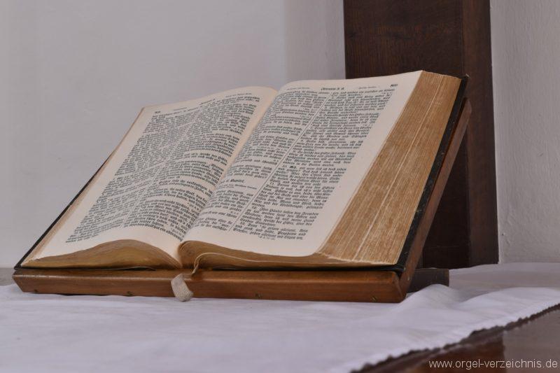 Stetten am kalten Markt Evangelische Hindenburg Gedächtniskirche Bibel