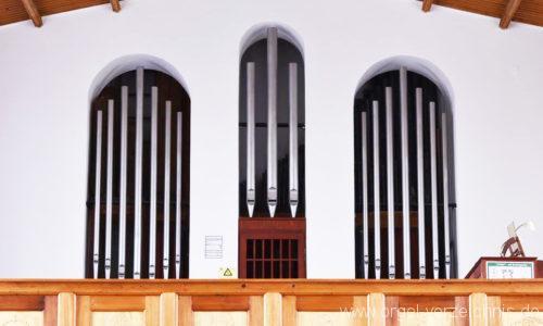 Stetten am kalten Markt - Evangelische Hindenburg Gedächtniskirche- Orgel