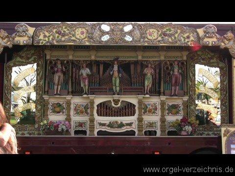 Gavioli Orgeln – Jahrmarktsorgel bzw. Kirmes- oder Karussellorgel