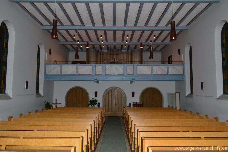 Gottmadingen Lutherkirche Prospekt II