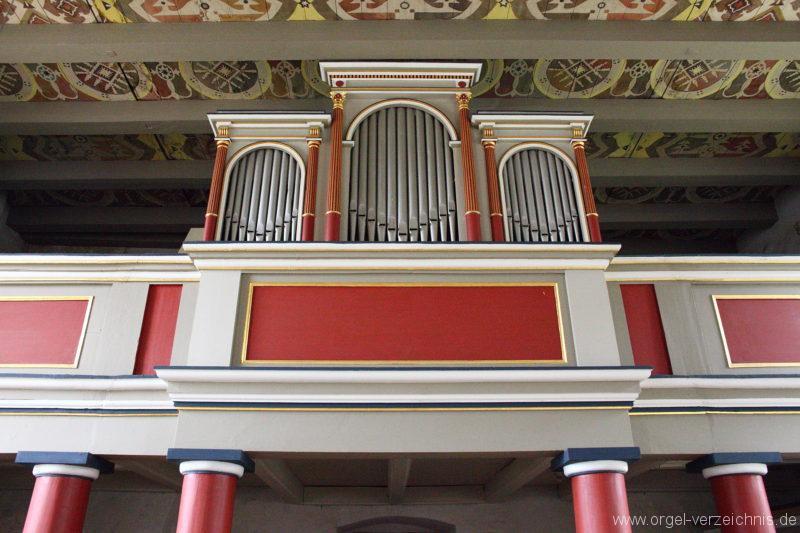 Herzberg ( Mark ) - Dorfkirche-Orgel (11)