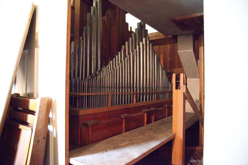 Herzberg ( Mark ) - Dorfkirche-Orgel (2)