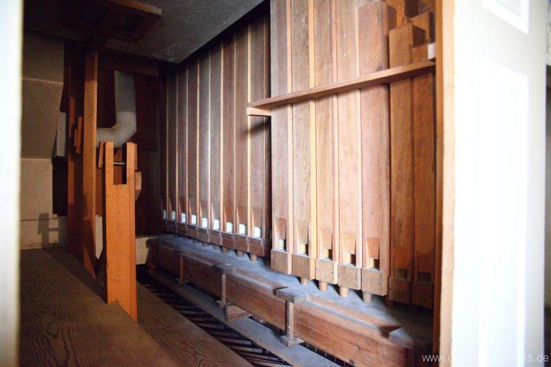 Herzberg ( Mark ) - Dorfkirche-Orgel (3)
