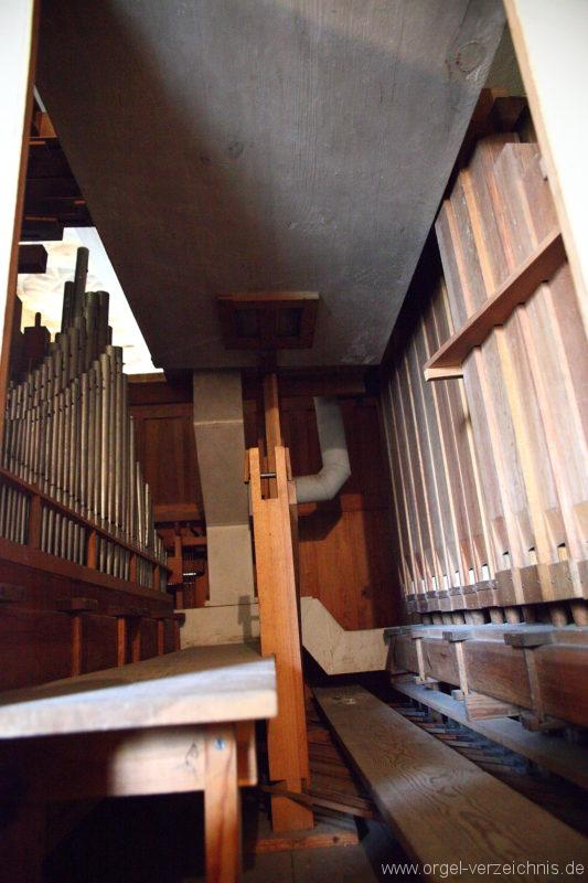 Herzberg ( Mark ) - Dorfkirche-Orgel (4)