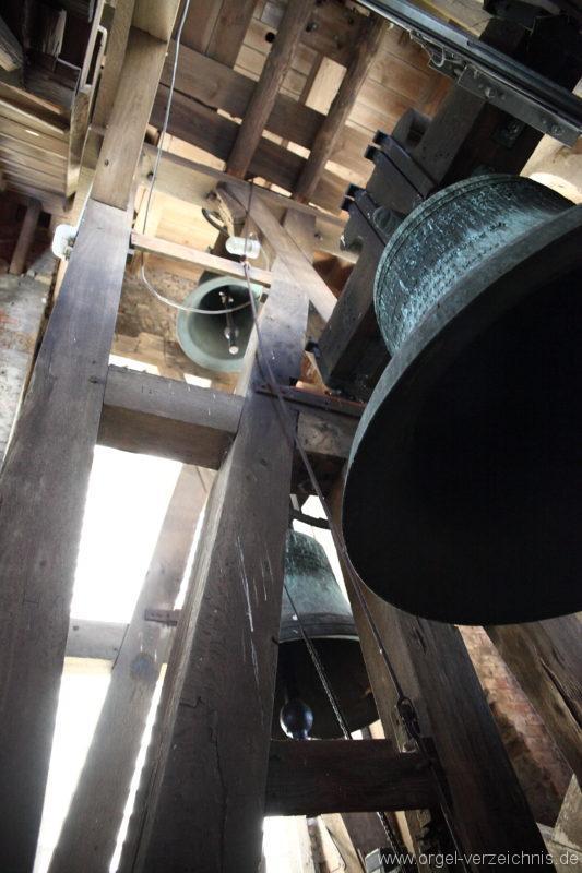 Langen - Fehrbellin - Stüler-Kirche Langen-Glocken-Glockenturm (8)