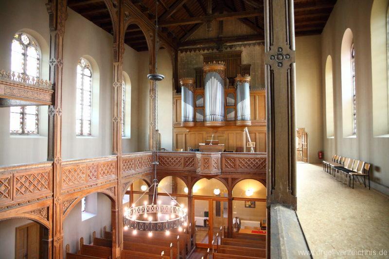 Langen - Fehrbellin - Stüler-Kirche Langen-Orgel (1)