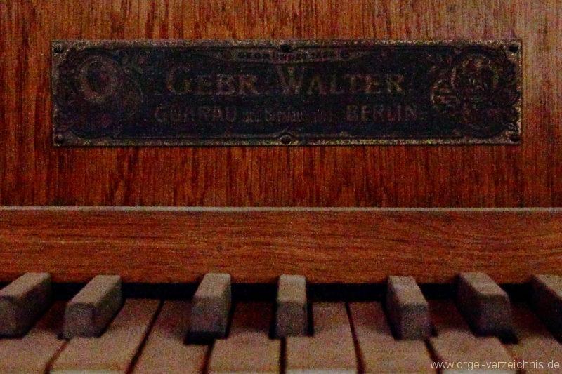 Langen - Fehrbellin - Stüler-Kirche Langen-Orgel-Spieltisch (3)