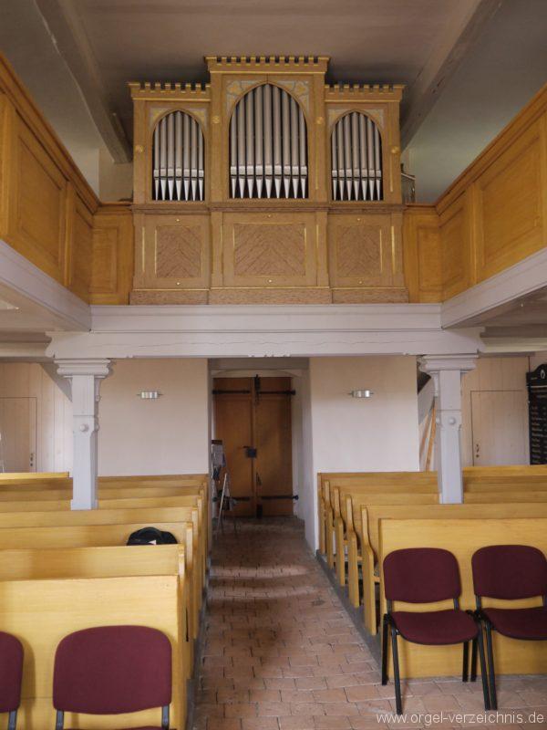 Königs Wusterhausen Dorfkirche Wernsdorf Orgelprospekt (1)