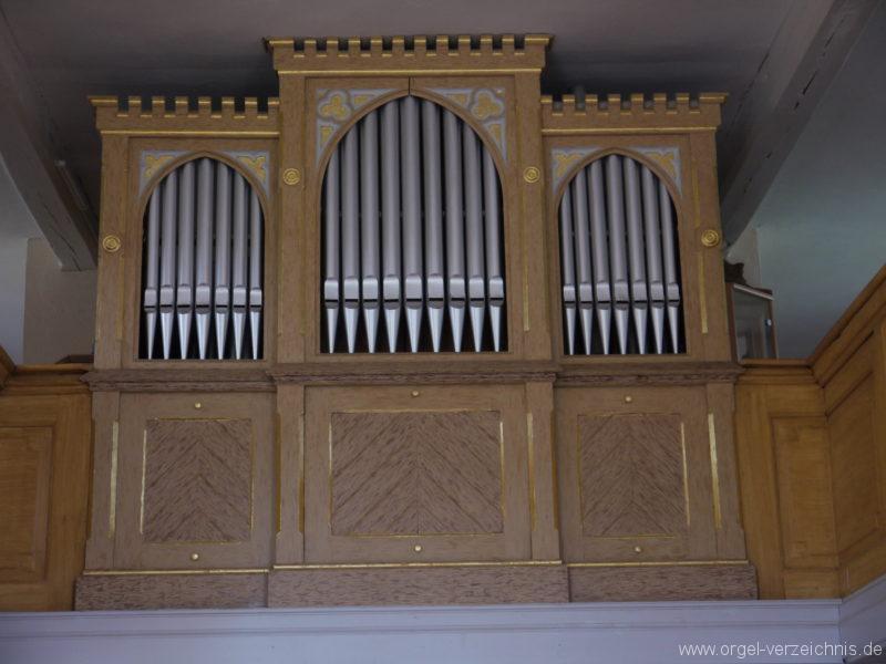 Königs Wusterhausen Dorfkirche Wernsdorf Orgelprospekt (2)